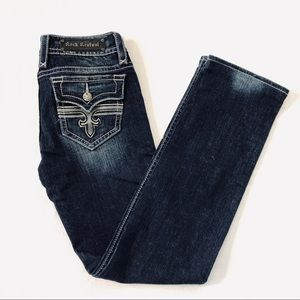 Rock Revival Tori Straight Jeans Sz 30